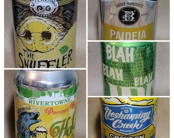 Beer Can Candle | Honeydew Melon Scented - Choice of Can!