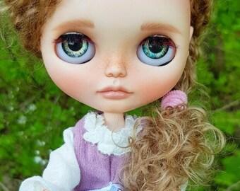 Sale! Blythe Doll Custom OOAK Gerda eternity Takara Likka Art girl toy