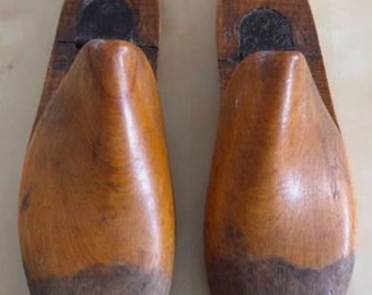 Vintage wooden Shoe Sharpers, Shoe Forms, Stretchers, Keepers