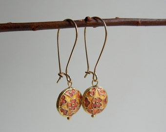 Gold Calliope Earrings
