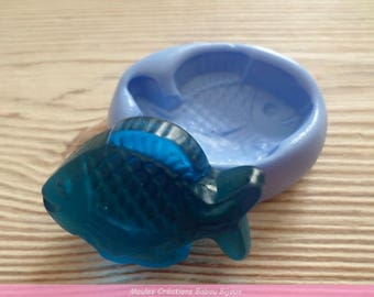 Fish candy mold