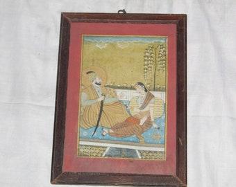 Mughal love scene