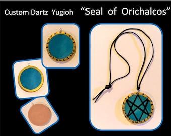 dartz yugioh,seal of orichalcos,Dartz Head band,Anime, Anime NecklaceLarping,Cosplay,LARP,Japanese manga, princess rosa, pendant for trina,