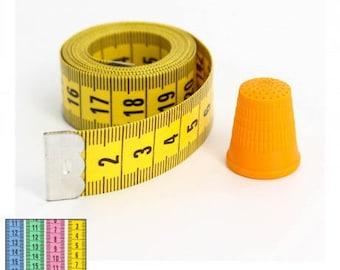 Seamstress tape 150 cm + thimble 17 mm