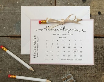 Pencil Us In - Save the Dates