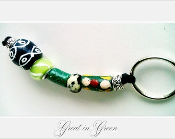 Great Green African Keychain Hang