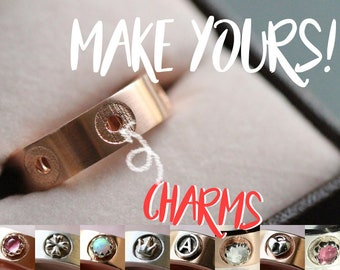 Customize Your Rings | Choose the charms! Customizable Karlat Ring | Statement Ring + Charms