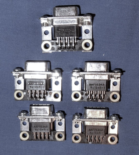 Craft Oddity – Computer Serial Port Connectors - Quantity of 10