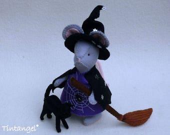 Halloween Een Muizig Heksje - Handwerkpakket