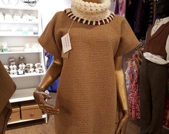 Women's wool tunic