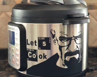 Breaking Bad Walter White Instant Pot Decal