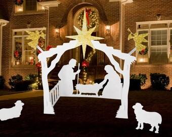 Outdoor Nativity Set ( large)