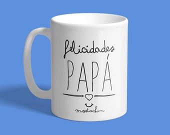 Taza Regalo, taza  Felicidades Papá