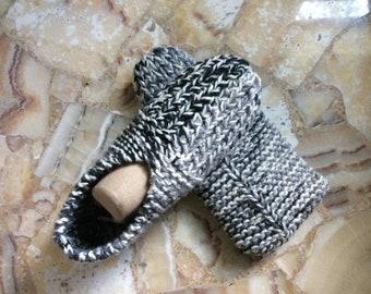 Hand-Knitted Slipper Socks for Women