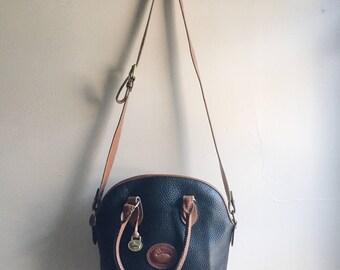 black and brown Dooney & Bourke bag | DOONEY AND BOURKE purse |  vintage dooney and bourke | Able shoppe | Dooney and Bourke handbag