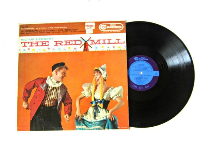Victor Herbert The Red Mill Vinyl Record Album 12 Inch LP Vintage Music RCA Camden Record Album