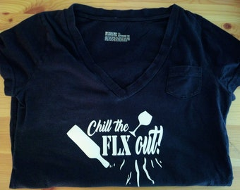 Chill the FLX out! Various Vinyl T-Shirts (men)
