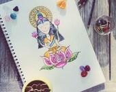 PRINT Lakshmi Hindu Godde...