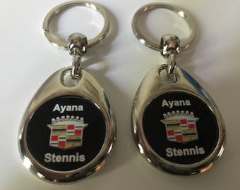 Ayana Stennis keychain set custom 2 pack