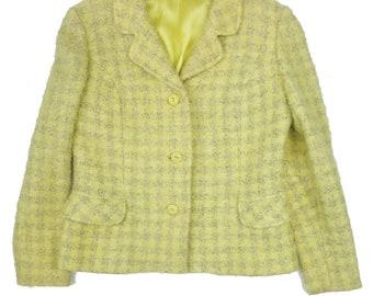 1950s True Vintage Lemon Check Jacket