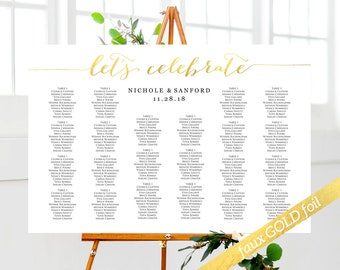 Seating Chart, Seating Chart Wedding, Seating Chart Template, Seating Chart Wedding Template, Seating Chart Sign, Table Plan For Wedding