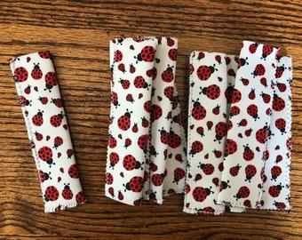 Red LadyBugs Print Popsicle Holder Wholesale Neoprene Blank (No. 68)