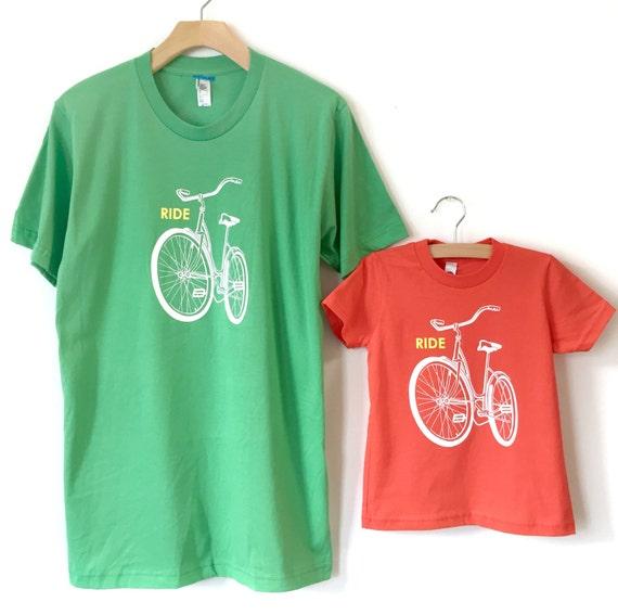 Matching Bike Family Shirts Father Son Matching Shirt Onesie Father ... 4dc74073211
