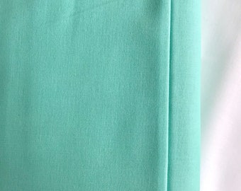 Cool Mint Fabric - Riley Blake Caribbean Fabric - Mint Green Cotton
