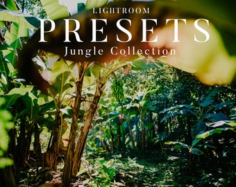 Jungle Collection - Lightroom presets