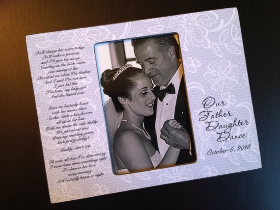 Father Daughter Dance Gift Personalized Father of the Bride