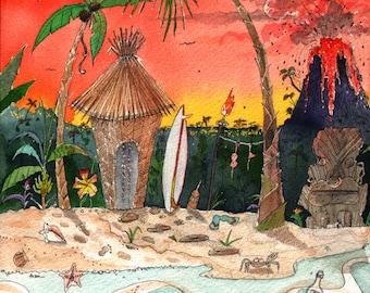 Tiki Bikini Beach