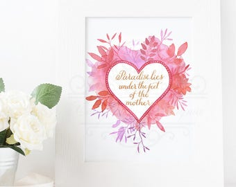 Exploding Heart Mother Quote