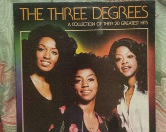 Three degrees greatest hits vinyl