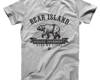 Bear Island House Mormont Got Game Of Thrones Story Basic Men's T-Shirt DT1903