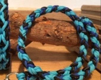 Custom Made Dog Lead Double 8 strand Braid