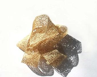 Two Vintage cotton  laces - 50s - crochet - bobbin lace - trim