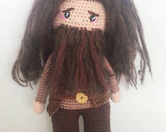 hagrid english/dutch crochet pattern