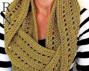 Circle Scarf Pattern-Permission to sell finished items.