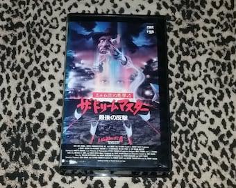 Nightmare on Elm Street 4: Japanese [VHS] Japan Import Vhs The Dream Master Freddy Krueger Wes Craven Horror Vhs Rare Horror Movie Vhs
