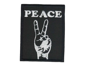 Peace Sign Patch Peace Sign Applique