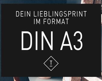 DIN A3 / Fine Art-Print, Wall-Art, Minimal Poster Art, Typography Art, Premium Poster, Kunstdruck Poster