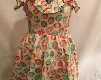 Retro Easter Apron with Petticoat
