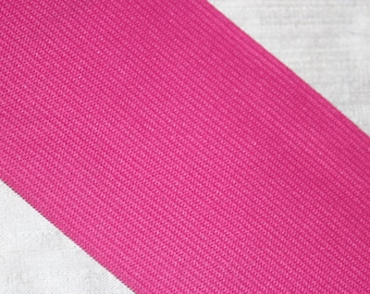 """1 yard Hot Pink 3"""" wide boxer knit waistband elastic"""
