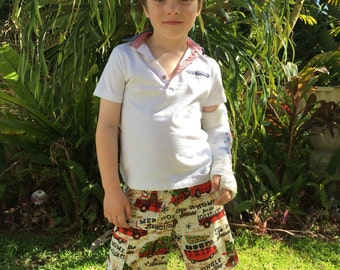 Boys Christmas Cargo Shorts