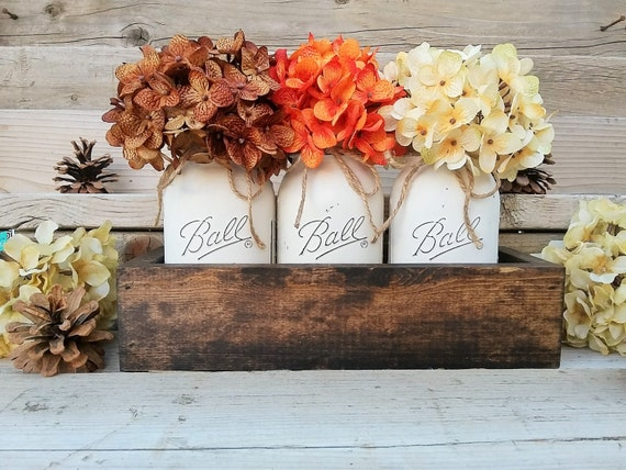Fall table centerpiecefall decorseasonalthanksgiving table for Cheap thanksgiving table decorations