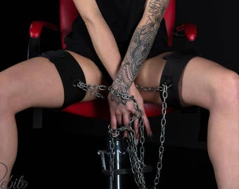 NEW! BDSM - quality fixing thighs, legs and arms hand-made!