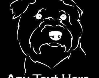 Glen of Imaal Terrier Vinyl Car Decal