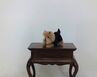 Miniature dog Yorkshire Terrier ,Yorkshire Terrier,Dollhouse miniature,miniature ,doll accessories, realistic dog.