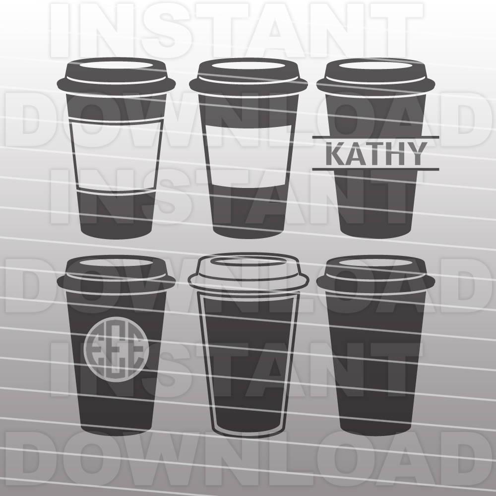 Download Starbucks Coffee Cup SVG File Coffee SVG File Vector Clip