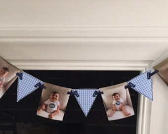 Fabric Birthday Banner 3 inches